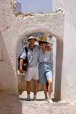 Ann and Jon Holmquist in Morocco