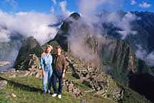 Ann and Jon Holmquist at Machu Picchu
