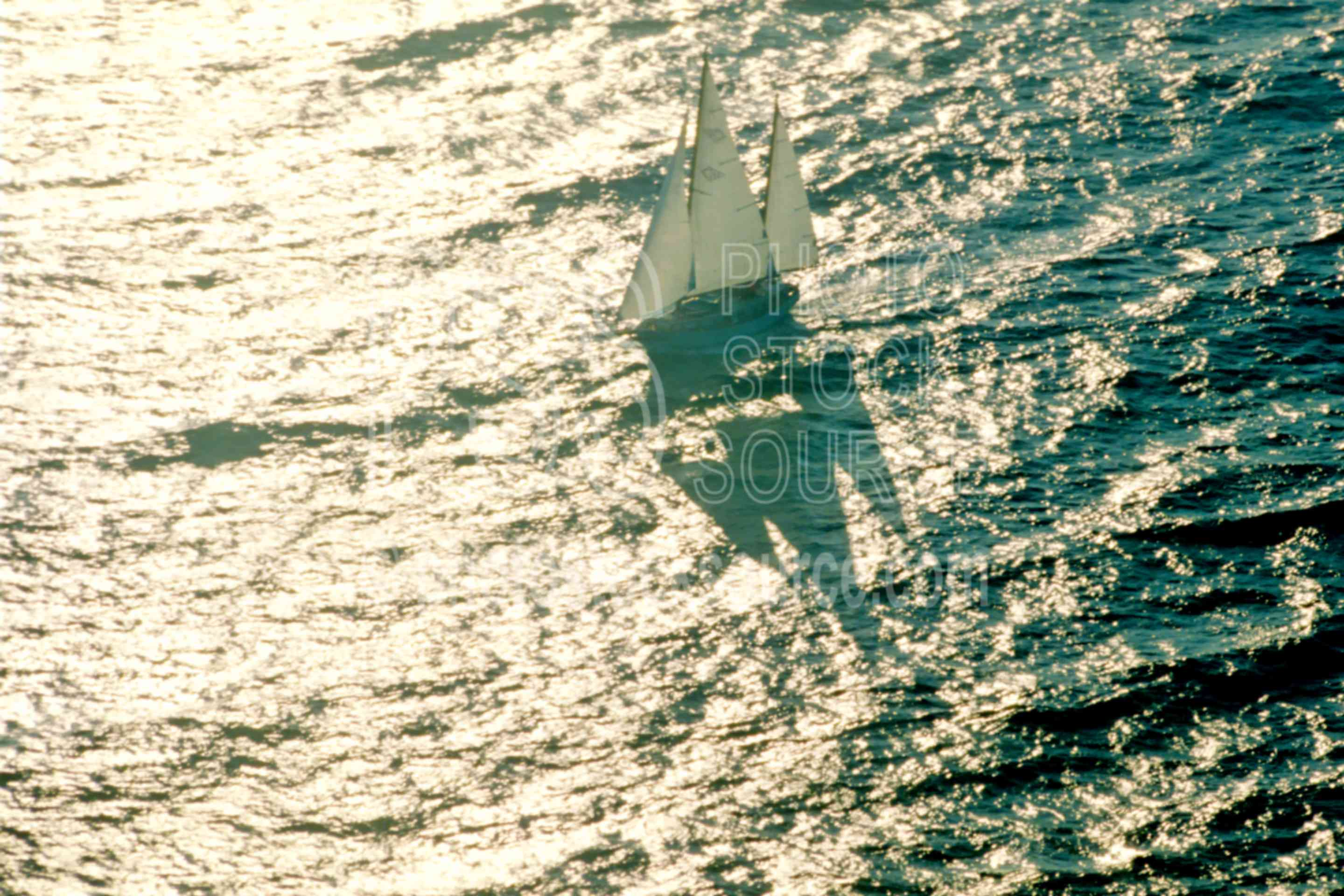 Sailboat on the Ocean,ocean,sailboat,aerial,boats ships,seascapes,aeronautics,aerials