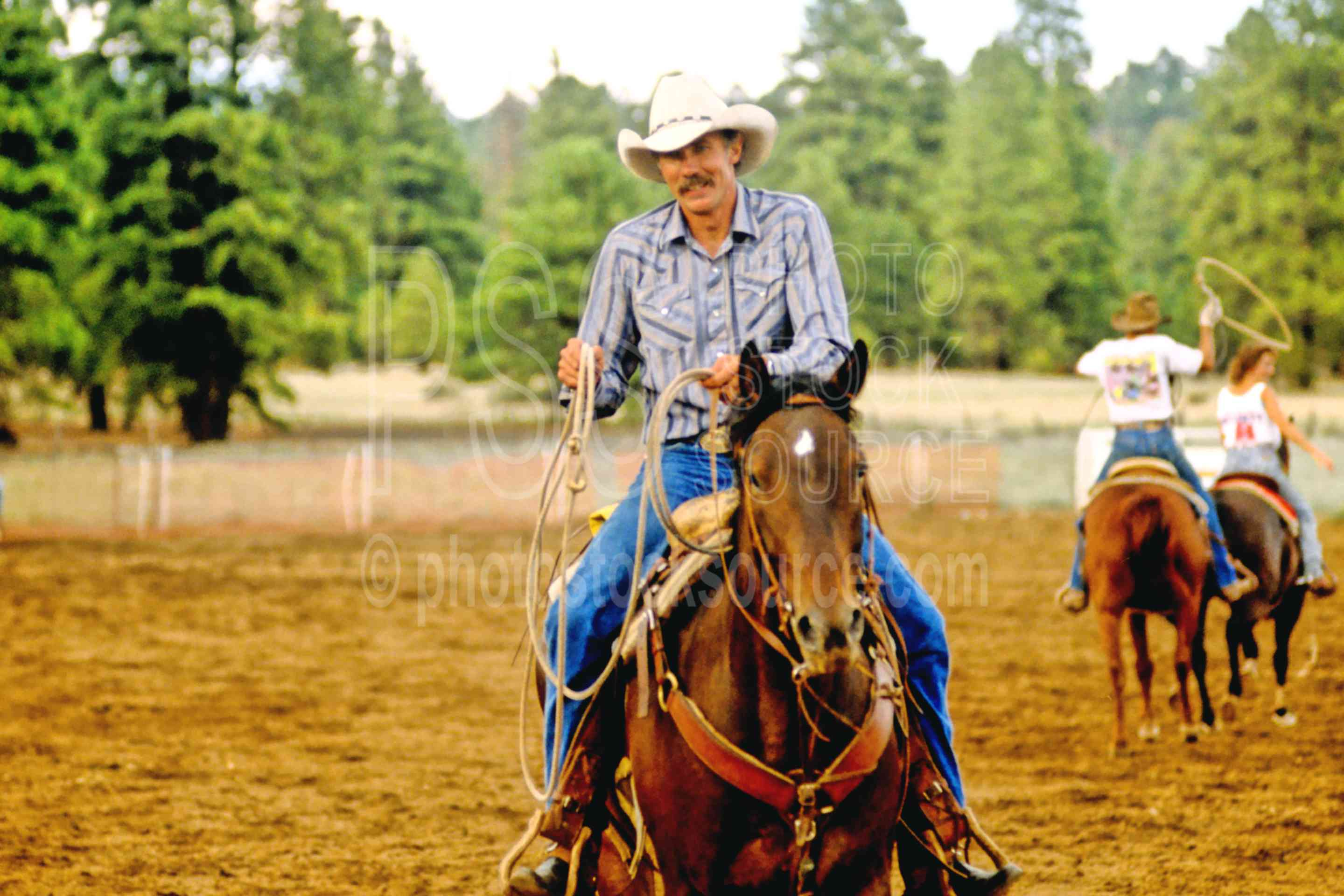 Cowboy Barry,cattle,cows,cowboy,horse,ranch,roping,team roping,usas