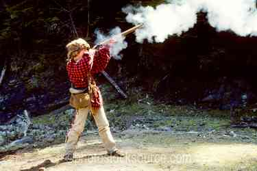 Photo of Young Blackpowder Shooter