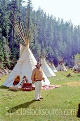 Photo of Iron Bear and Teepee