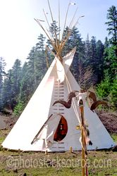 Photo of Teepee Decoration