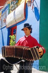 Photo of Bandoneon Player