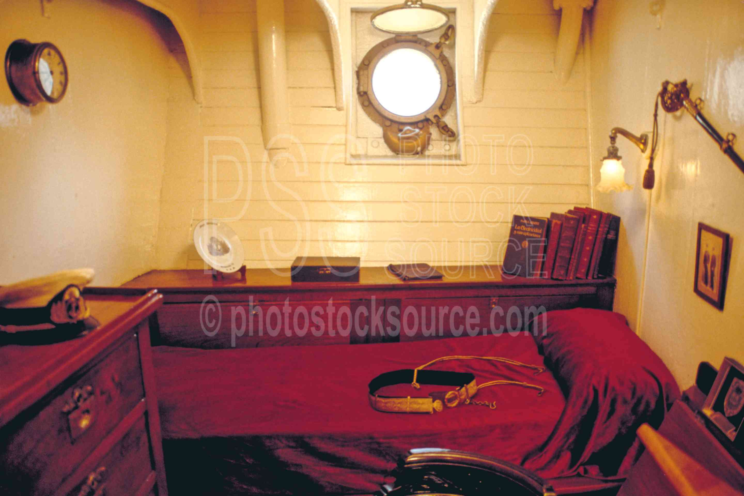 Photo Of Captain S Quarters By Photo Stock Source Ship