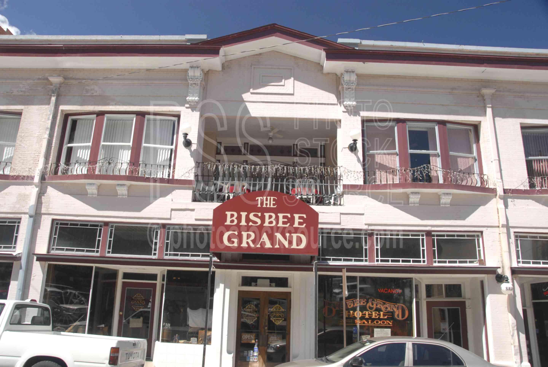 Photo Of Bisbee Grand Hotel By Photo Stock Source Street Bisbee Arizona Usa Downtown Buildings Hotel