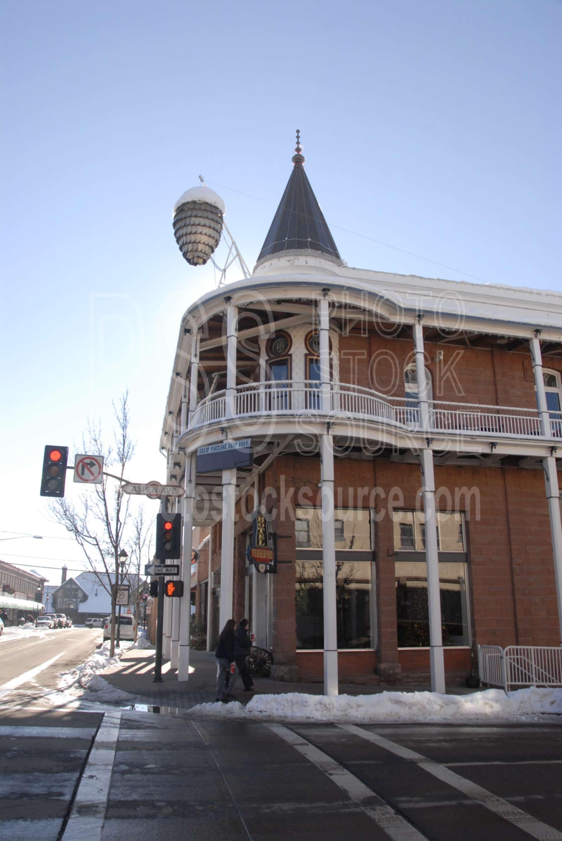 Photo of Weatherford Hotel by Photo Stock Source building