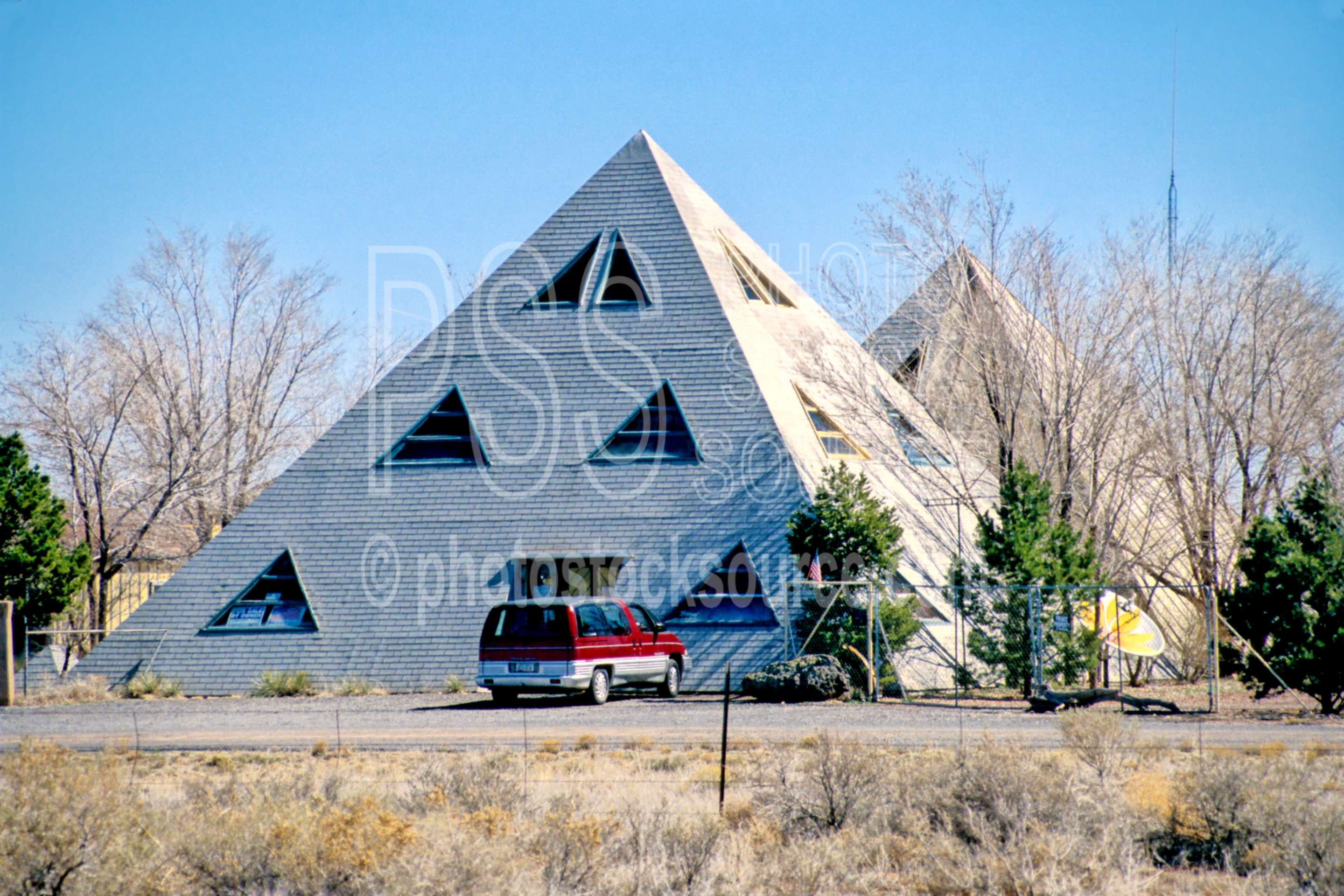 Photo of pyramid house by photo stock source building for Building a house in arizona