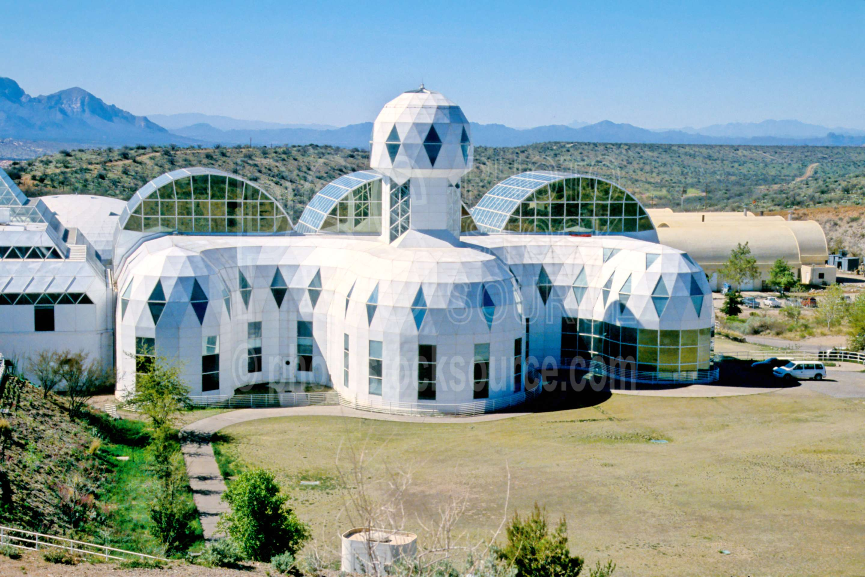 Biosphere 2,architecture,environment,experimental,research,biosphere,usas