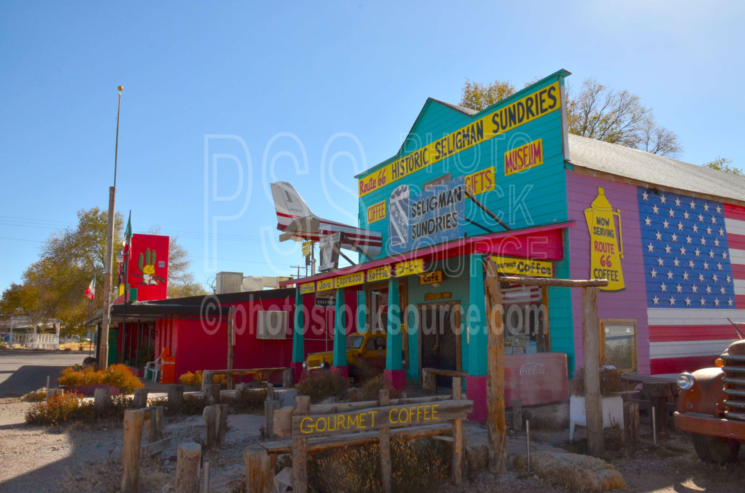 Historic Seligman Sundries,roadside attraction,route 66,store,souvenirs,historic,historical,building,western
