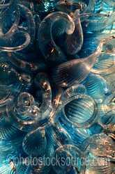 Chandelier Glass Sculptures