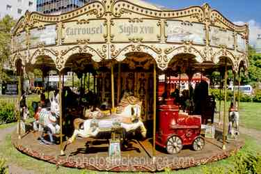 Photo of Carousel in the Plaza