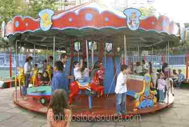 Photo of Plaza Lezama Carousel