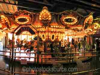 Photo of MIners Landing Carousel
