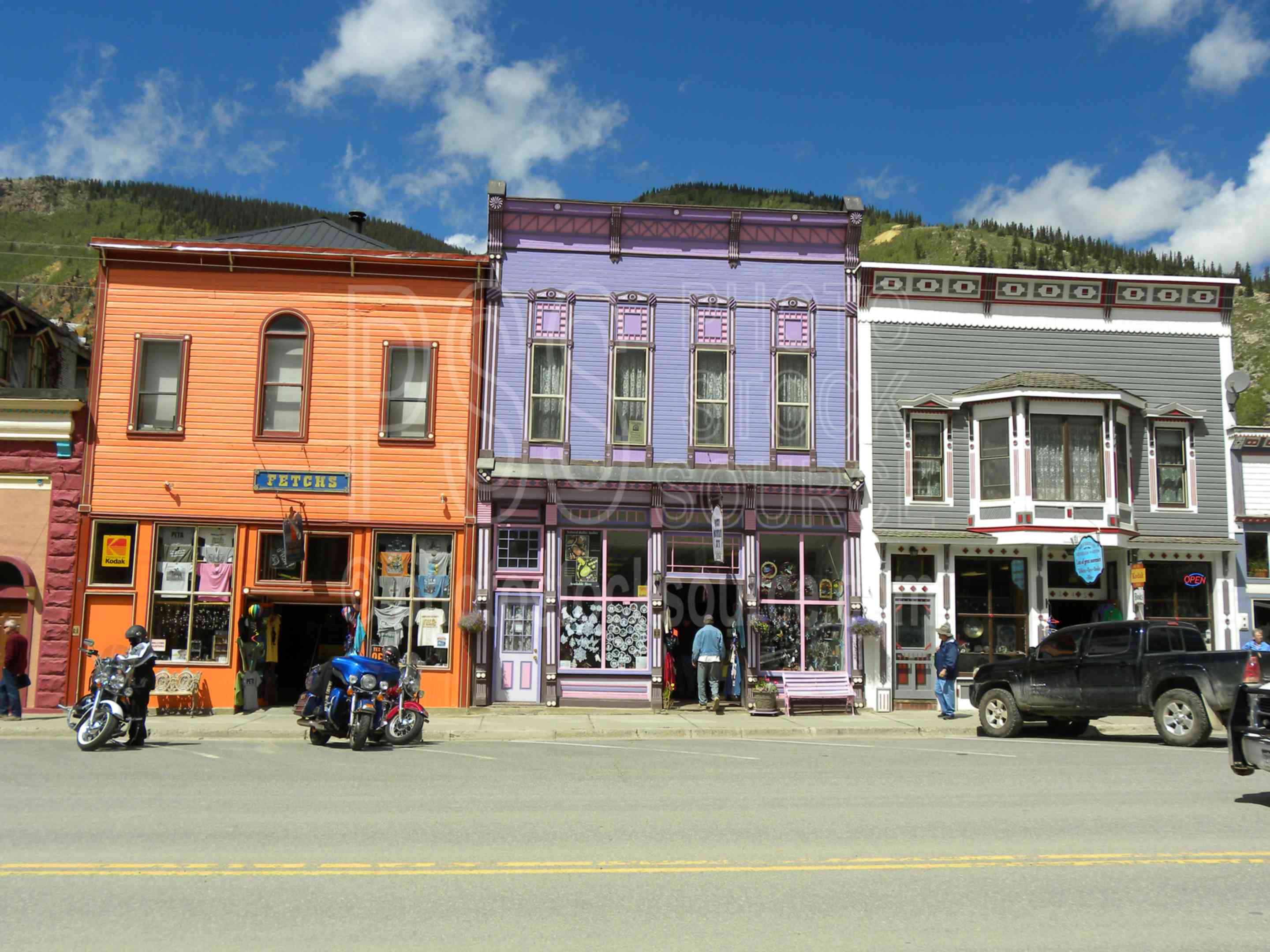 Downtown Silverton,mining,mining town,railroad,old west