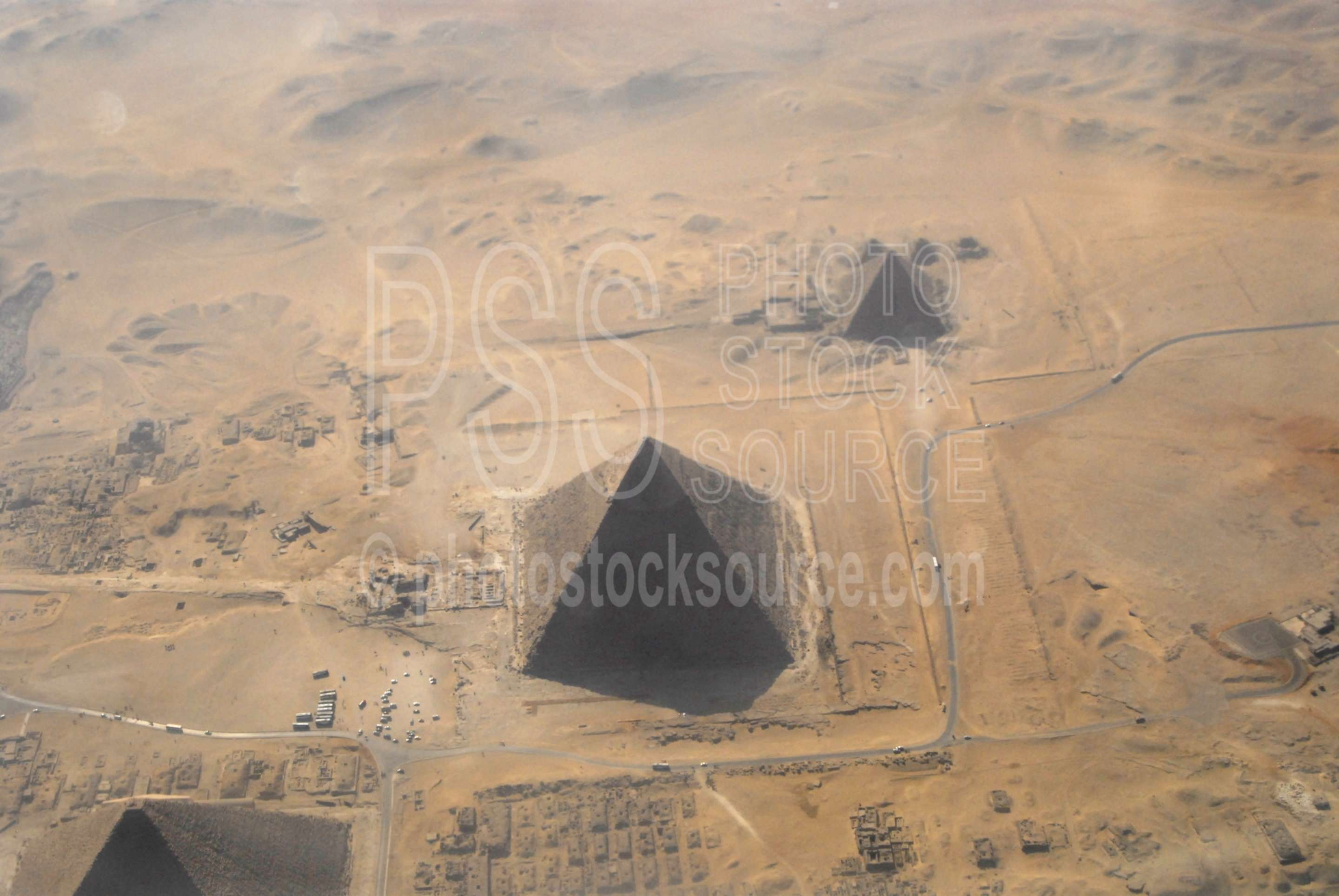 The Great Pyramid,aerial,pyramid,ancient,landmark,desert,aerials