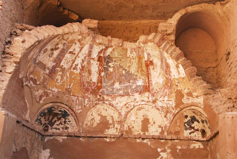 Photo of St Simeon Monastery Fresco by Photo Stock Source
