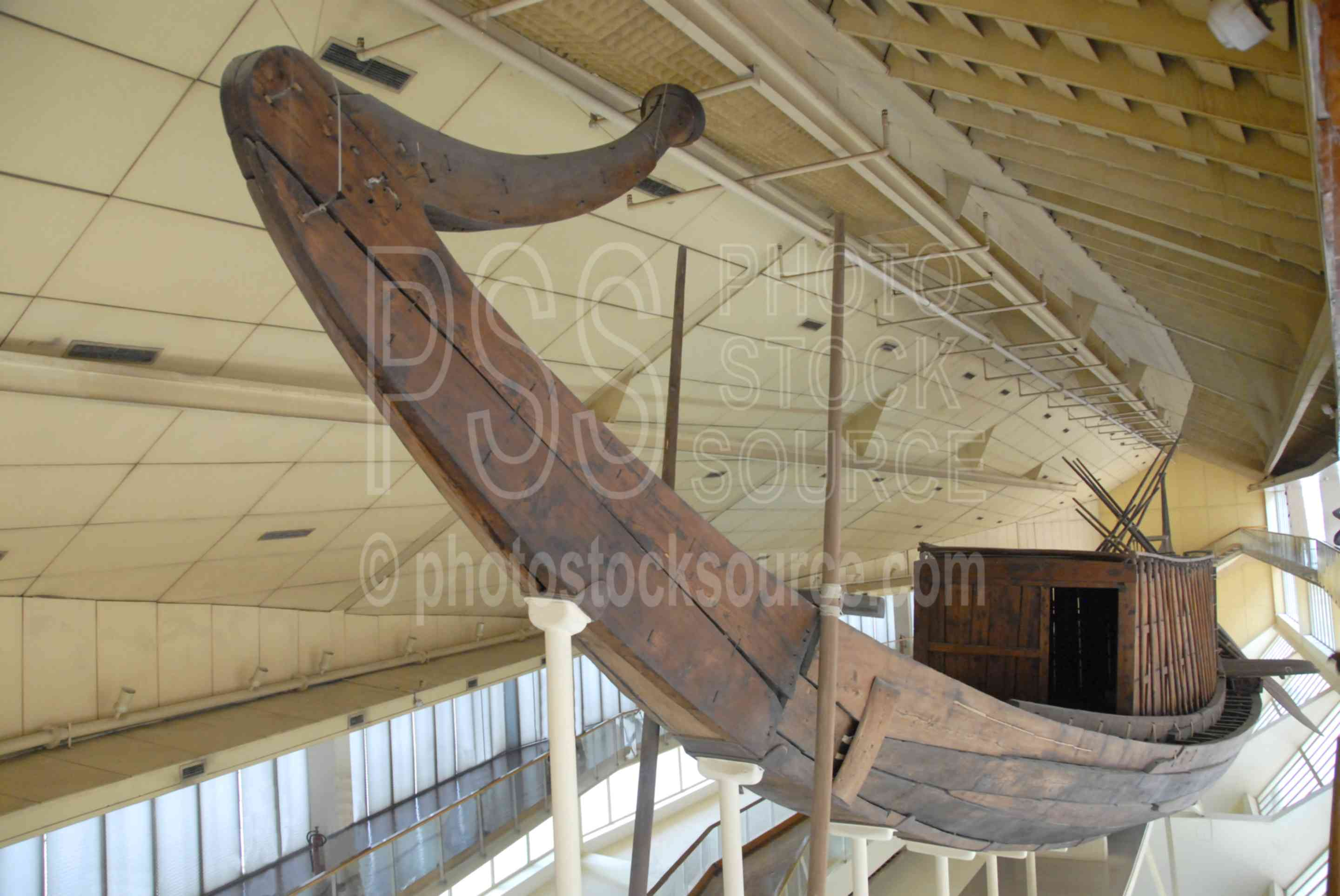 Solar Boat,boat,model,burial,archaeological,museum,giza,hull,prow,paddle