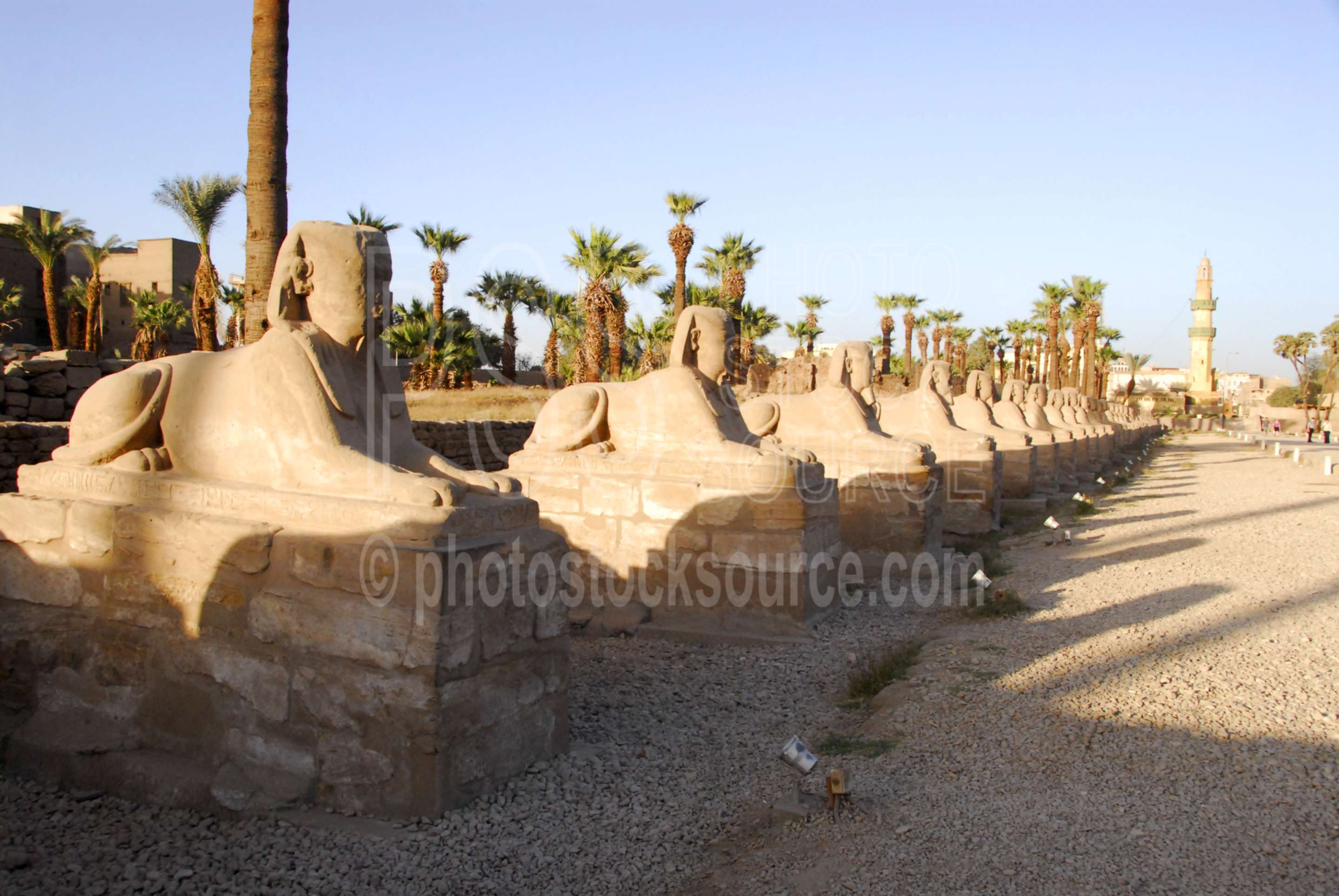 Avenue of the Sphinxes,temple,mosque,sphinx,statues,sacred way,architecture,temples
