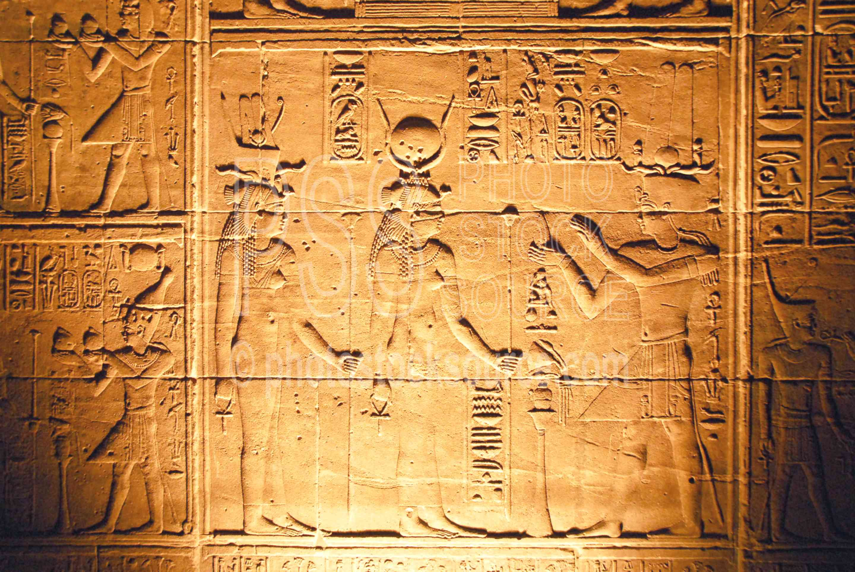 Temple of Isis Hieroglyphics,temple,ruins,hieroglyphics,temples
