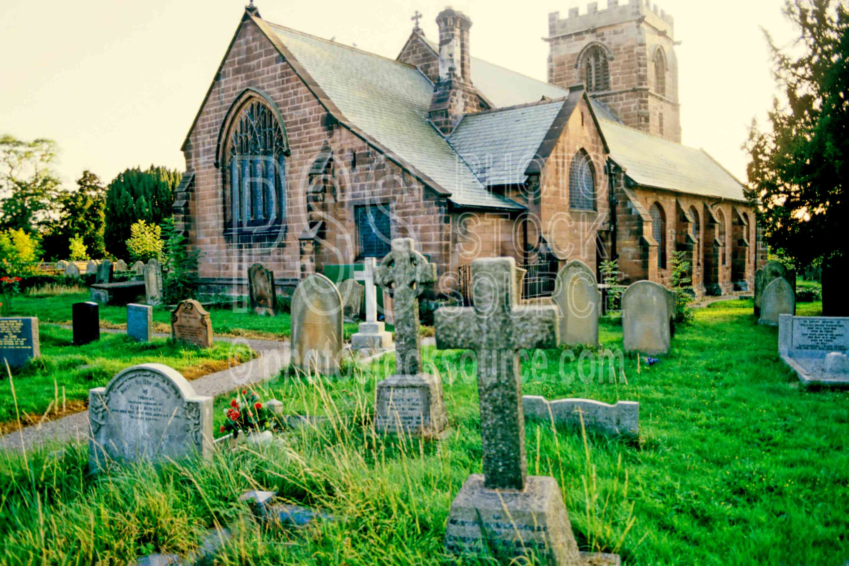 Church Graveyard,church,europe,graveyard,tombstone,england churches,cemeteries