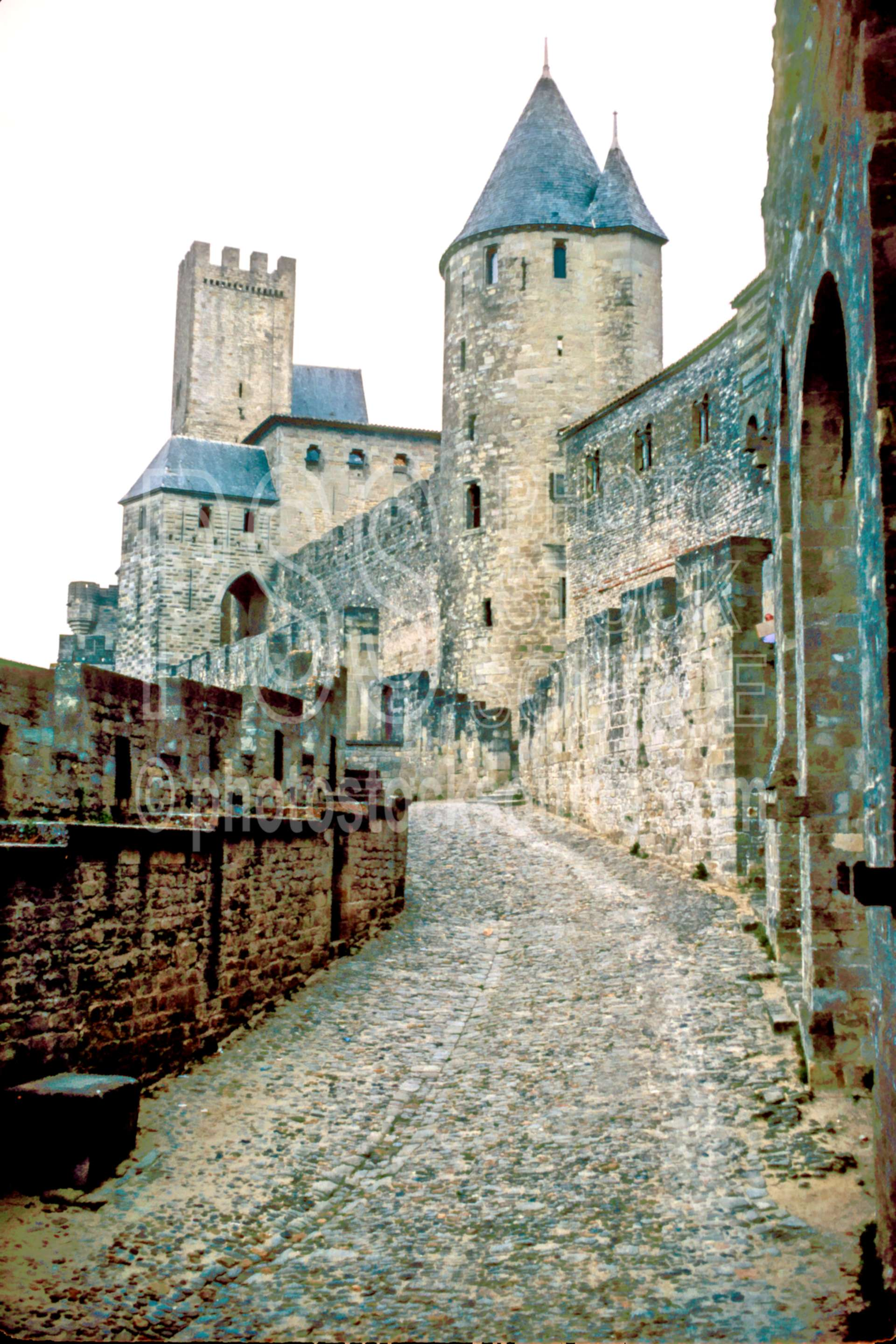 Walled City,castle,europe,medieval,road,wall,france castles
