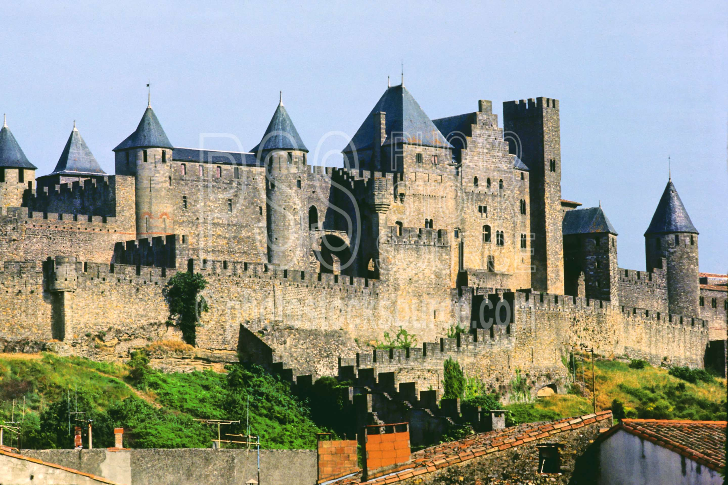 City Walls,castle,europe,medieval,road,wall,france castles