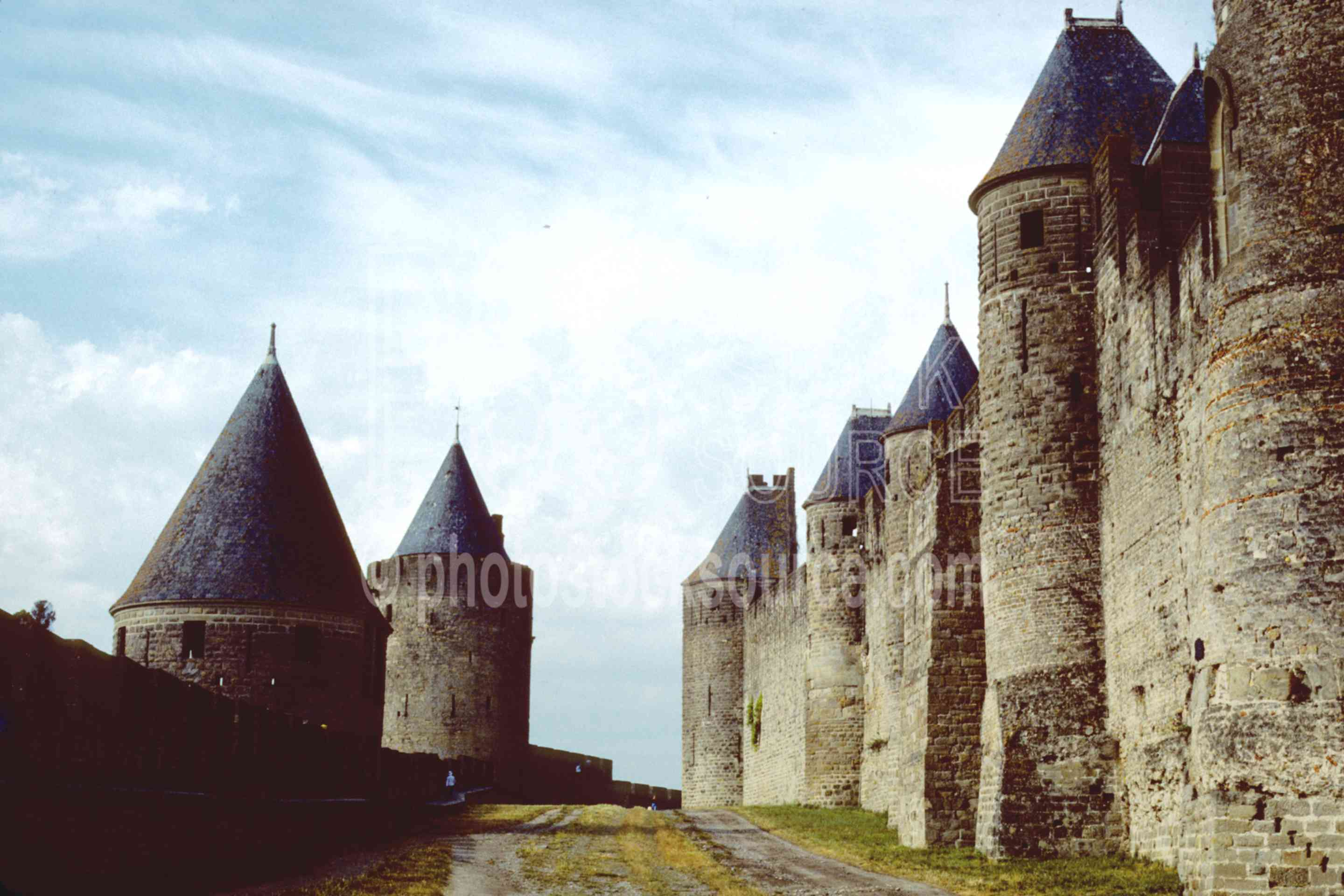 The Old City,castle,europe,france castles