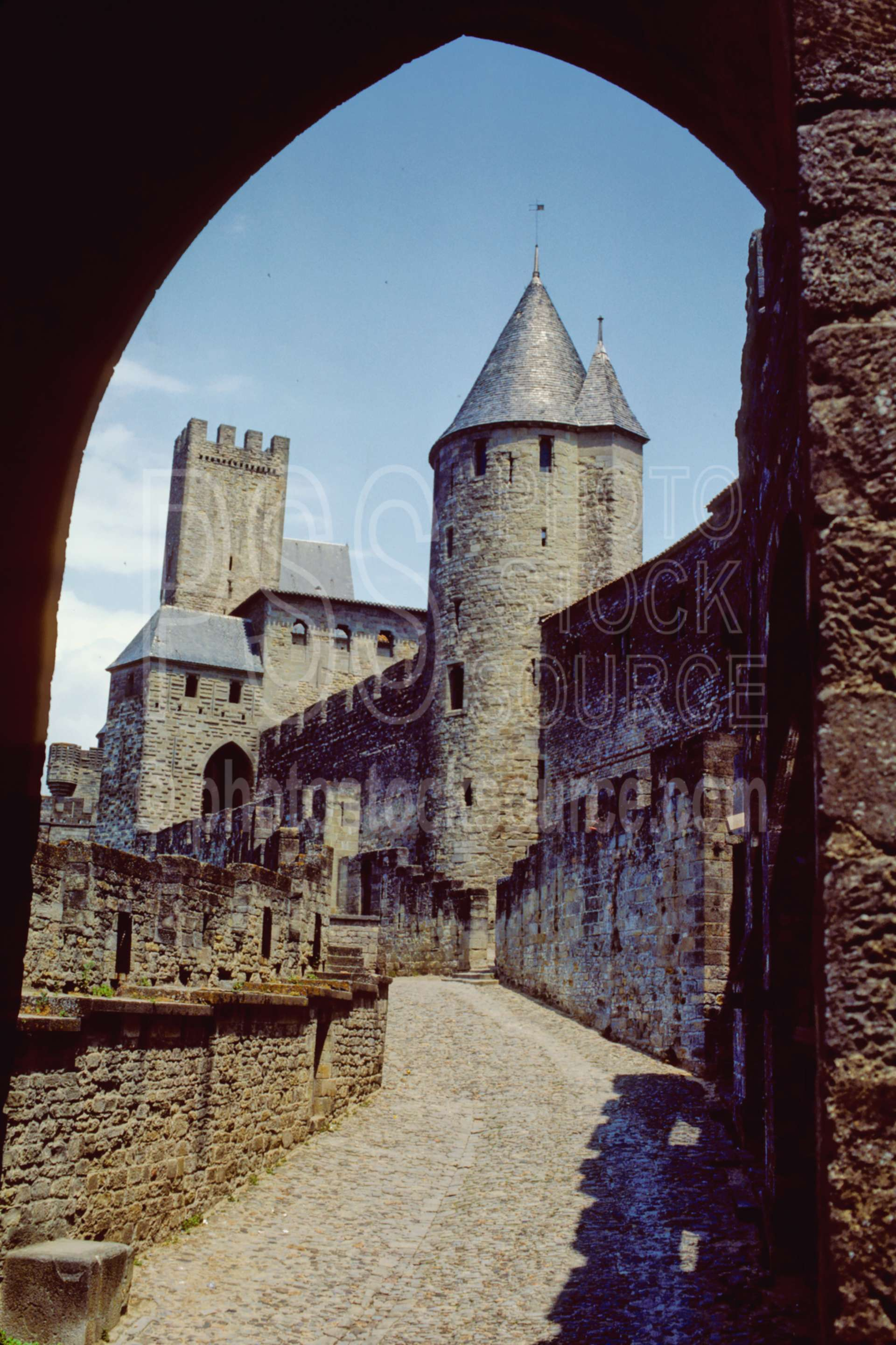 Entrance to the City,castle,europe,medieval,wall,france castles