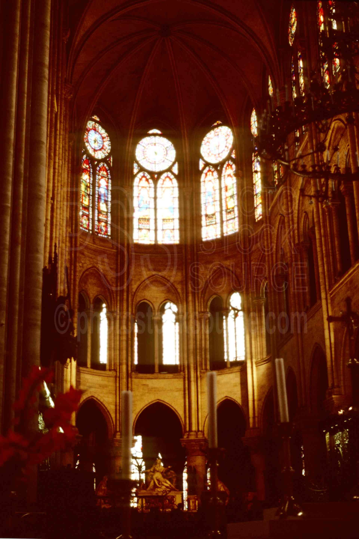 Inside Notre Dam,church,europe,notre dam,stained glass,stained glass window,window,france churches,religion