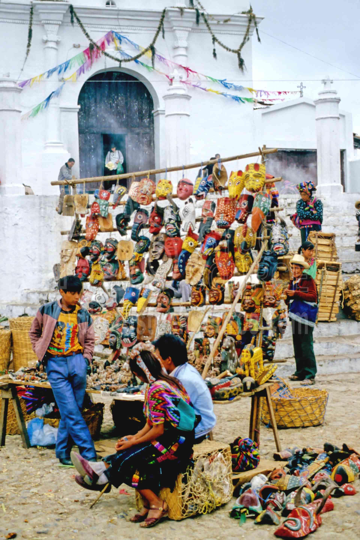 Mask Seller,mans,market,mask,guatemala markets