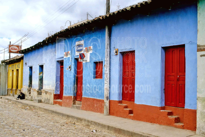 Colorful Buildings,door