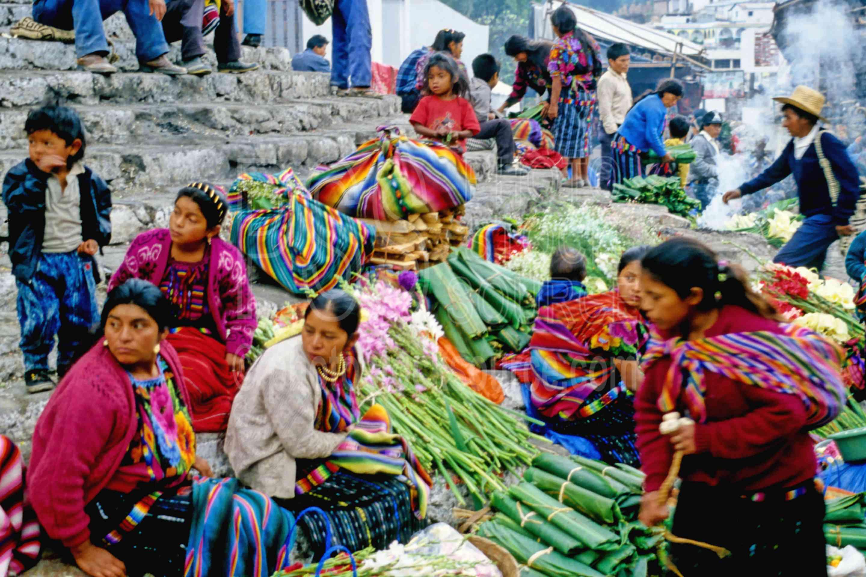 Market on the Steps,market,seller,guatemala markets
