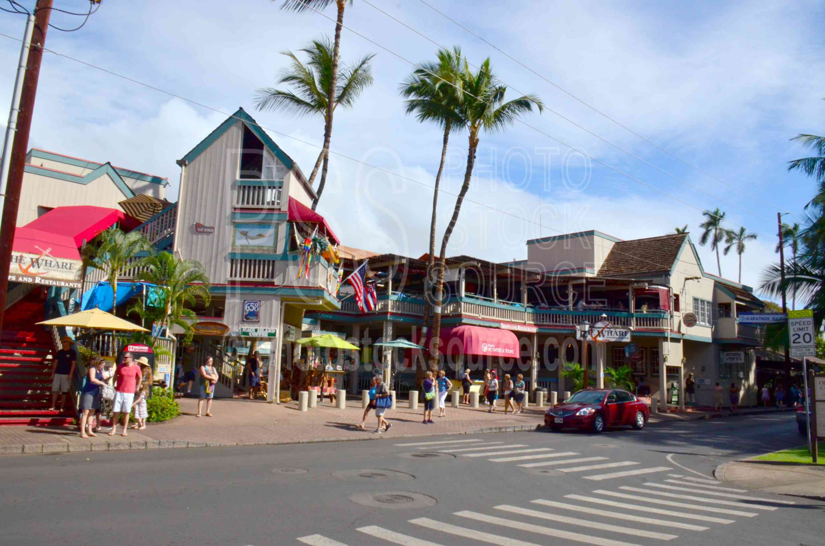Photo of Front Street Shops by Photo Stock Source street, Lahaina ...