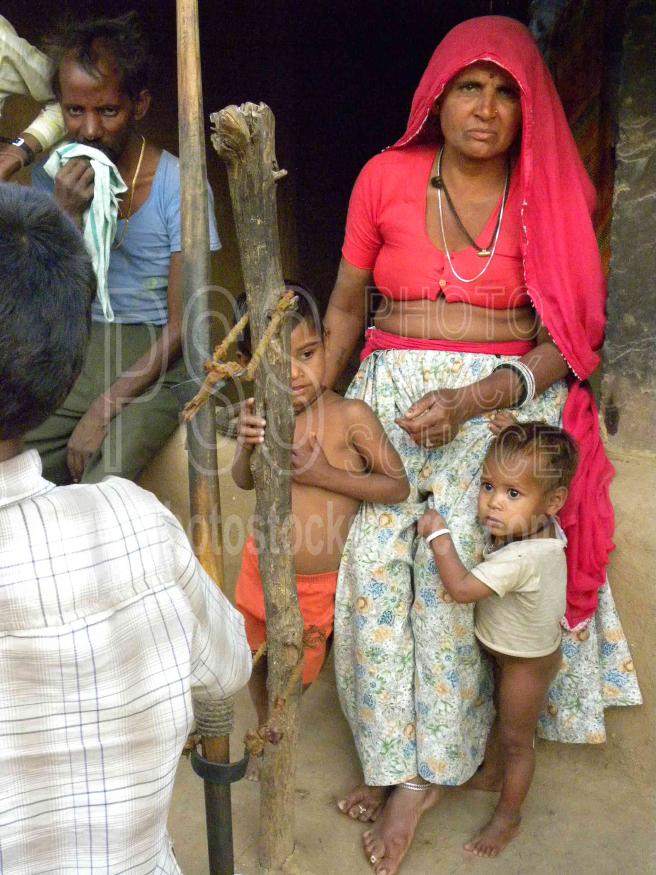 Woman and Child,house,home,woman,child