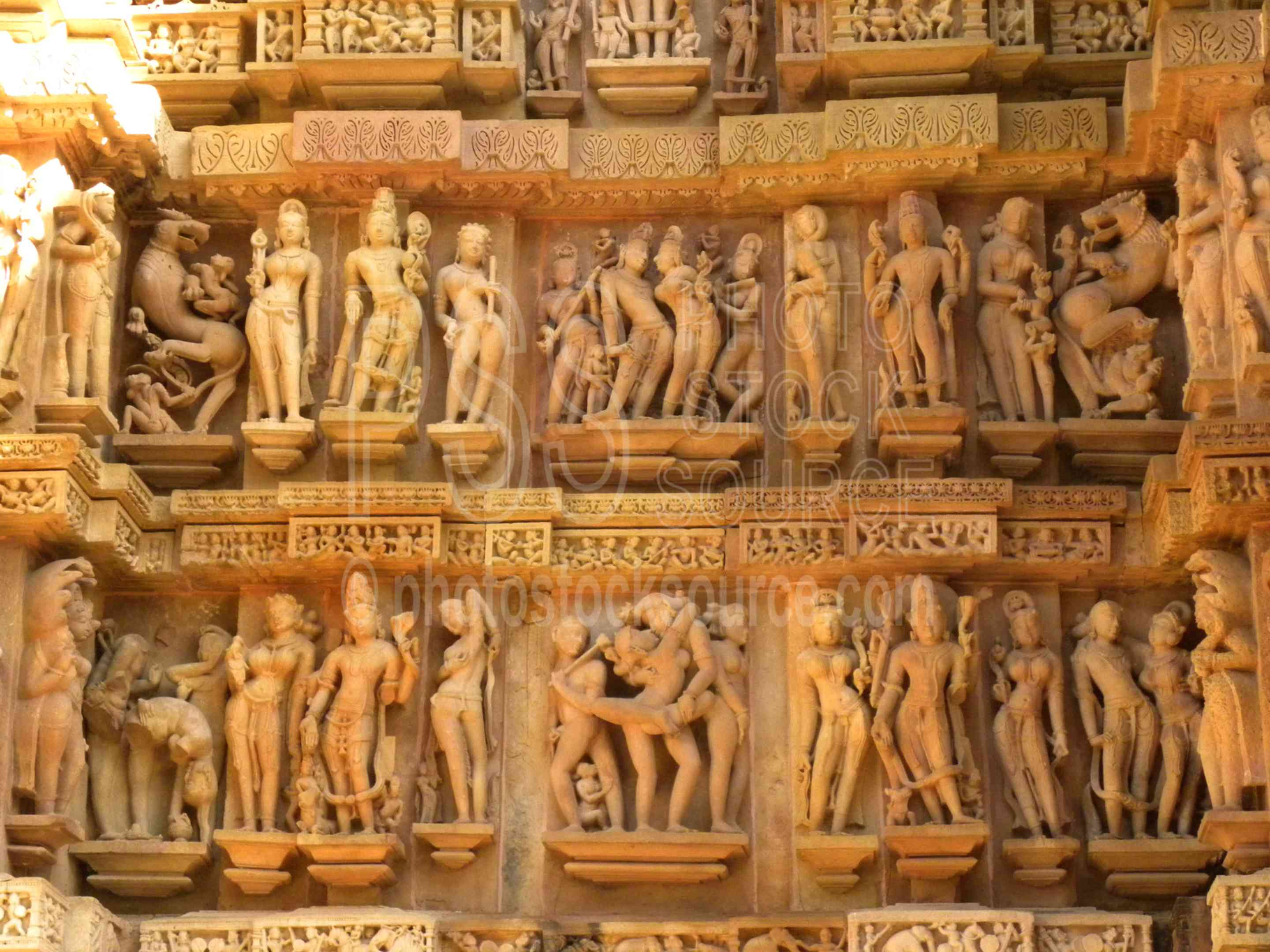 Photo of Lakshmana Temple Carvings by Photo Stock Source