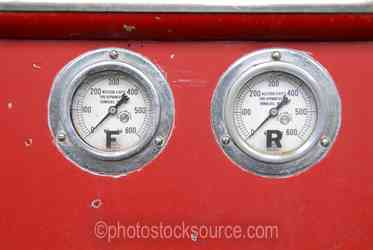 Photo of Truck Gauges