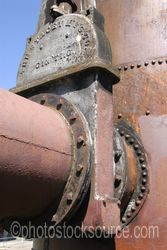Photo of Gas Works Pipes