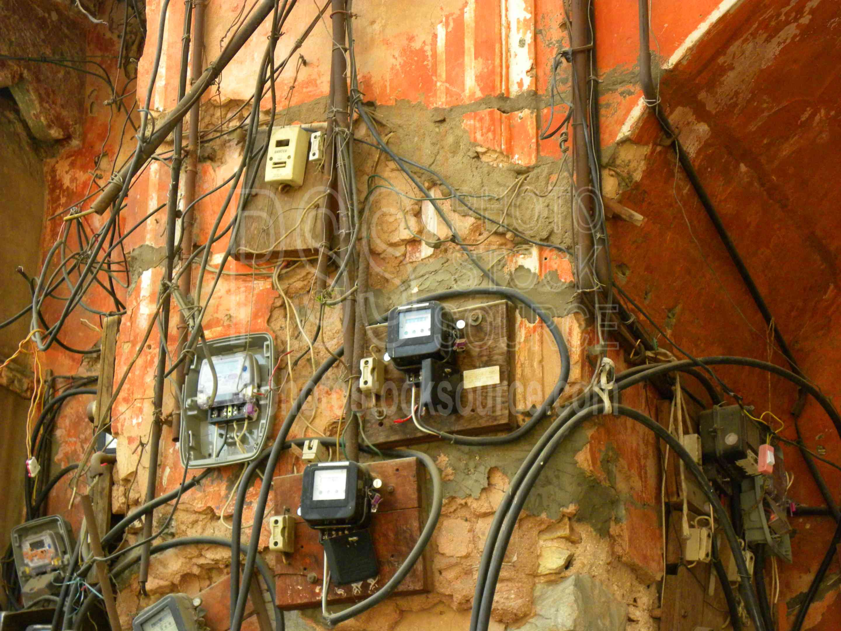 Photo Of Indian Electrical Wiring By Photo Stock Source