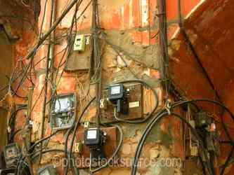 Photo of Indian Electrical Wiring