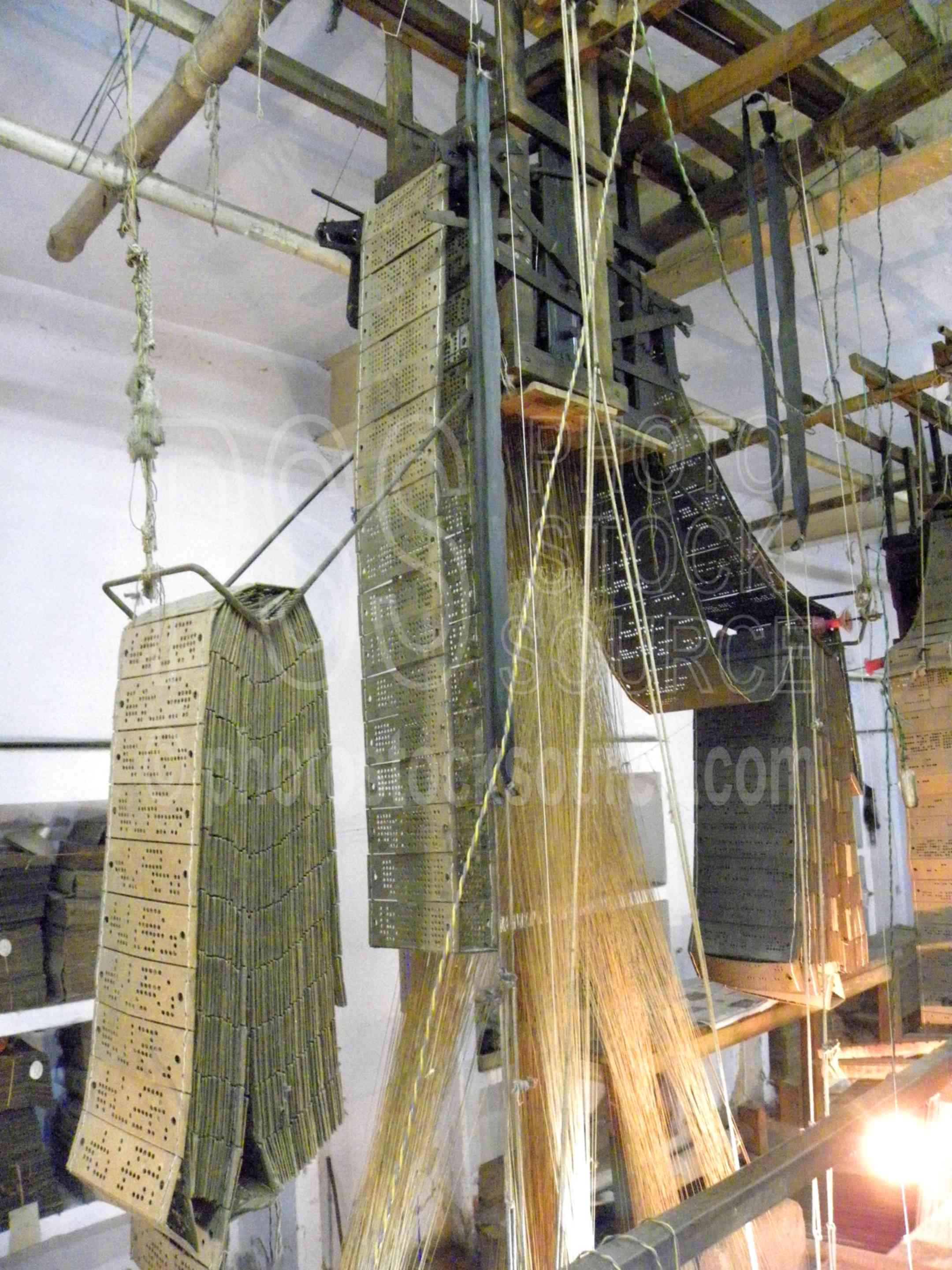 Photo of Jacquard Loom by Photo Stock Source instrument
