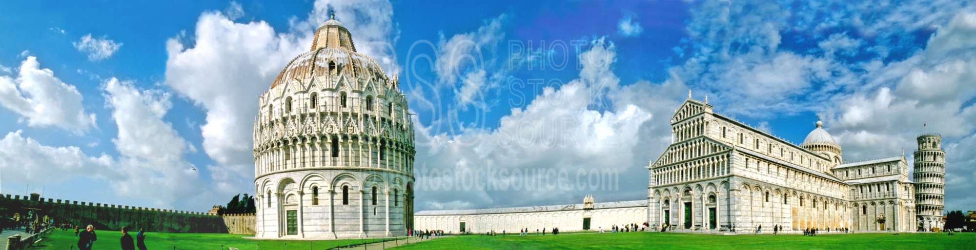 Field of Miracles,leaning tower of pisa,tower,cathedral,basilica,duomo,panorama,panoramas,churches,religion,church mosque panos