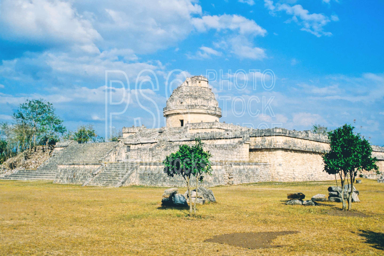 The Observatory,el caracol,temple,temples