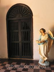 Door in Our Lady of Loreto