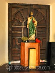 Statue in Our Lady of Loreto