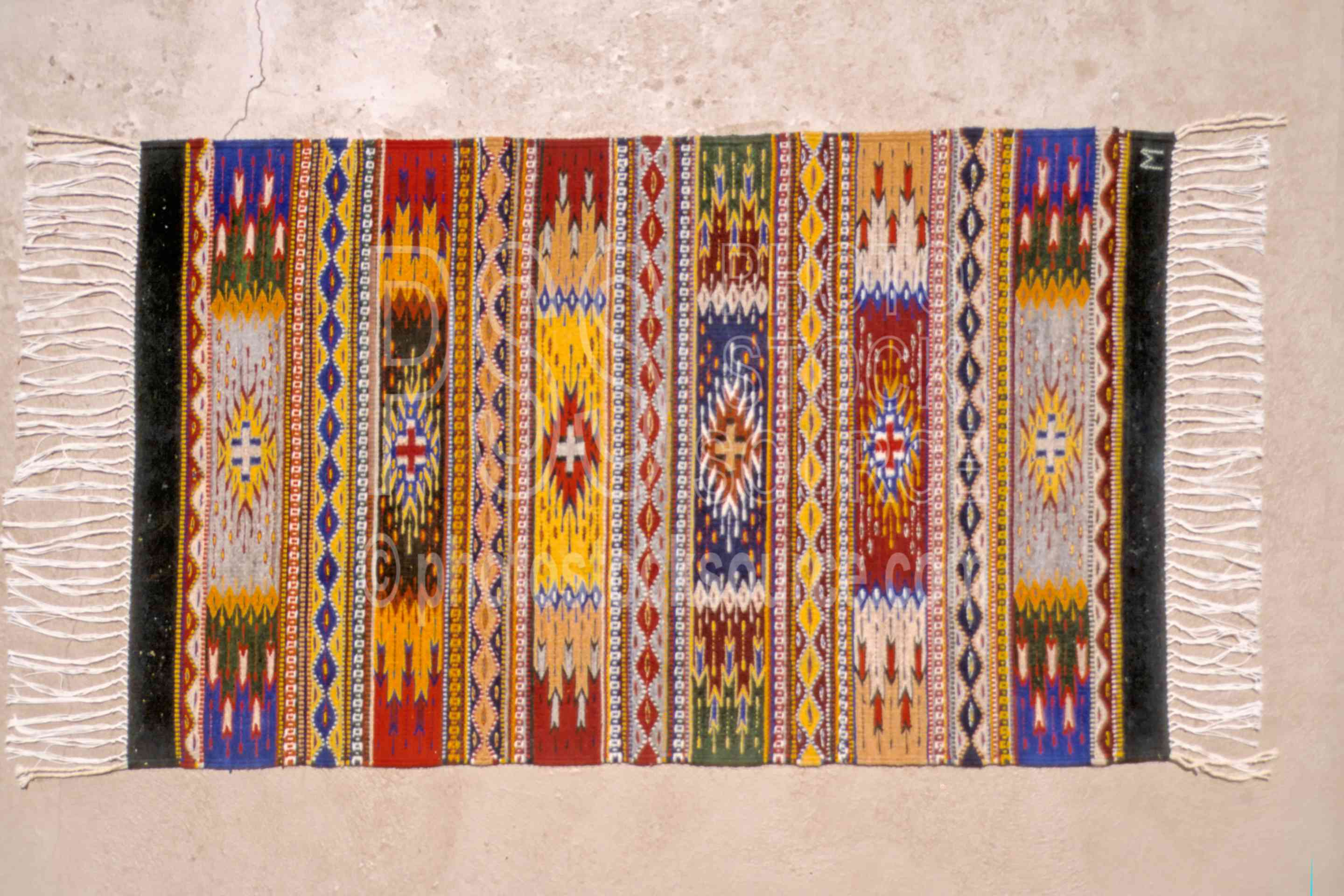 Photo Of Zapotec Rug By Stock