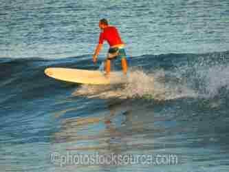 Scorpion Bay Surfer