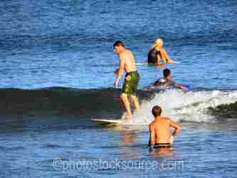 Scorpion Bay Surfers