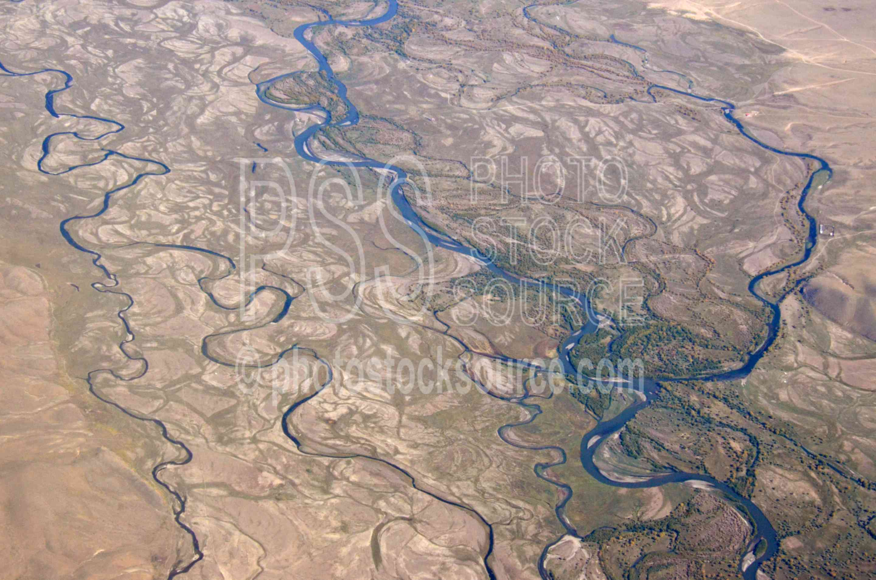 Tuul River from Air,river,valley,meanders