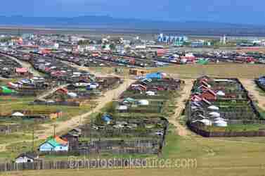 Kharkorin from Viewpoint